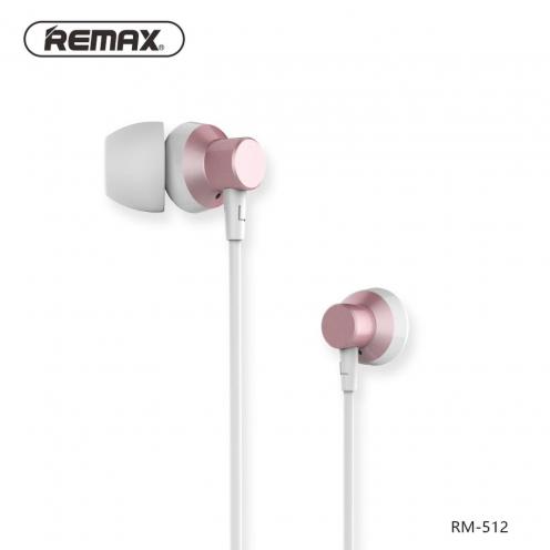REMAX earphones RM-512 pink