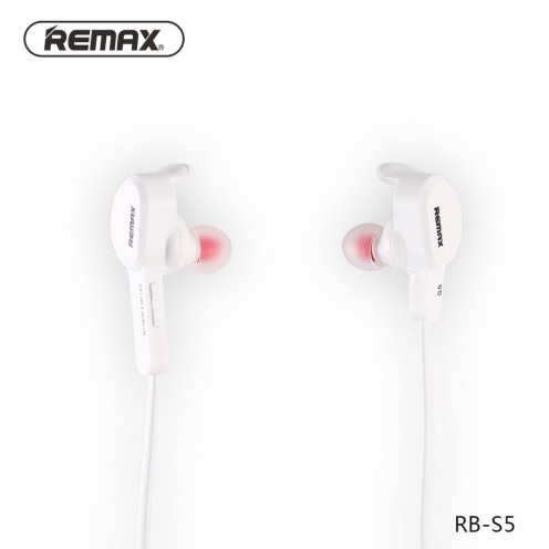 REMAX bluetooth earphones SPORTY RB-S5 white