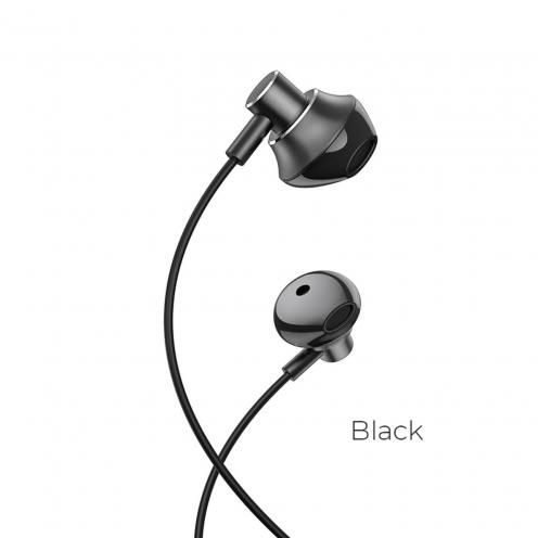Hoco© earphones M75 Belle Universal jack 3,5mm black