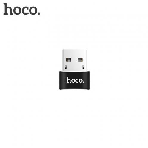 HOCO adapter OTG USB - Type C UA6 black