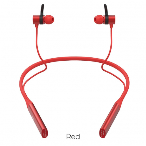 Hoco Selected® Glamour Sports wireless headset S18 red