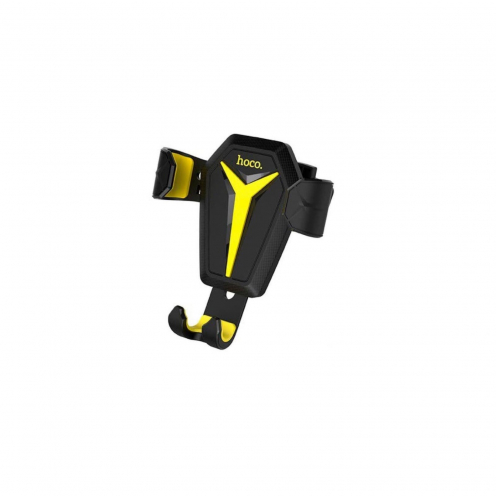 HOCO car holder gravity for air vent Kingcrab CA22 black-yellow