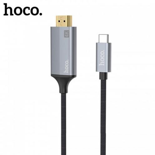HOCO adapter HDMI Typ C 1,8m UA13 grey