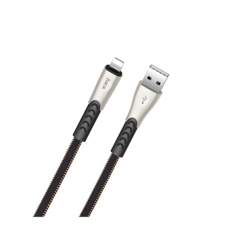 HOCO Superior speed charging data cable for Lightning U48 black