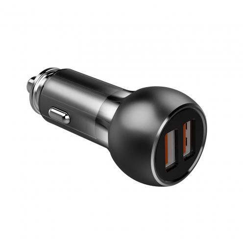 Car Charger LDNIO C503Q Quick Charge 3.0 with double USB socket 3A + Micro USB cable