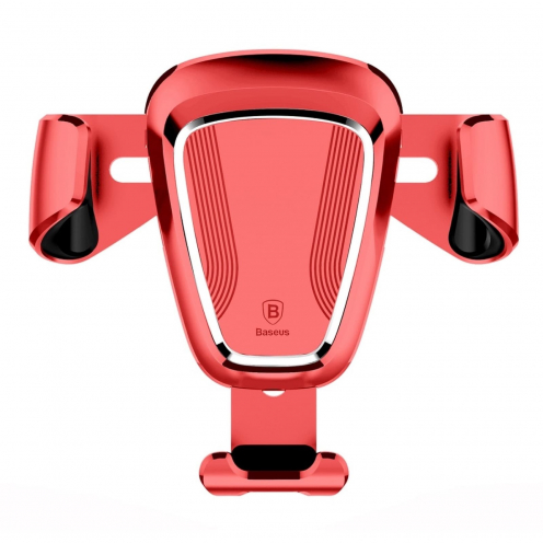 BASEUS car holder Gravity Car Mount Red SUYL-0V