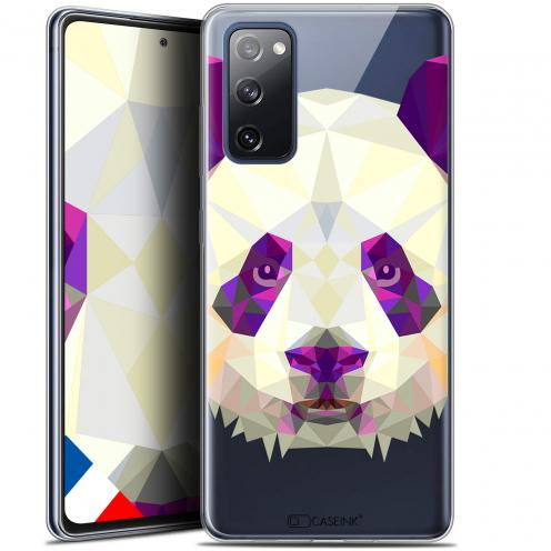 "Carcasa Gel Extra Fina Samsung Galaxy S20 FE (6.5"") Polygon Animals Panda"