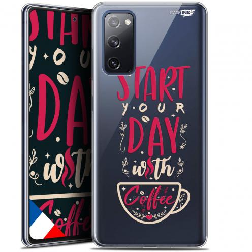 "Carcasa Gel Extra Fina Samsung Galaxy S20 FE (6.5"") Design Start With Coffee"