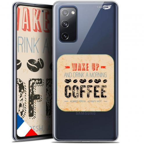 "Carcasa Gel Extra Fina Samsung Galaxy S20 FE (6.5"") Design Wake Up With Coffee"