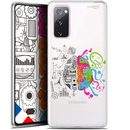 "Carcasa Gel Extra Fina Samsung Galaxy S20 FE (6.5"") Design Le Cerveau"