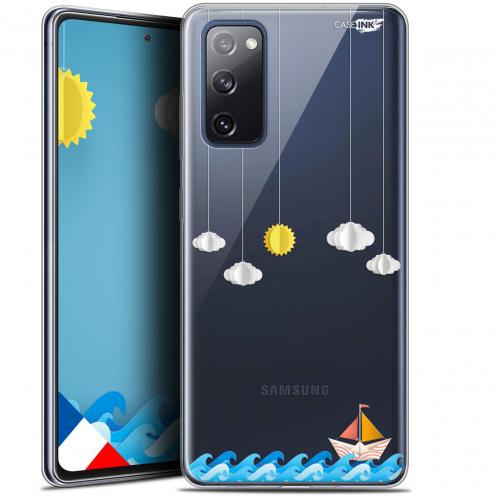 "Carcasa Gel Extra Fina Samsung Galaxy S20 FE (6.5"") Design Petit Bateau en Mer"