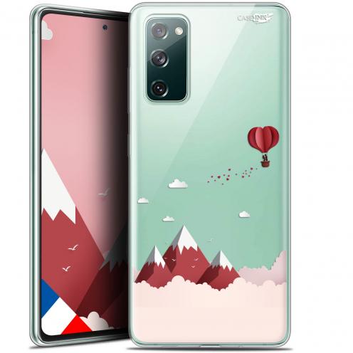 "Carcasa Gel Extra Fina Samsung Galaxy S20 FE (6.5"") Design Montagne En Montgolfière"
