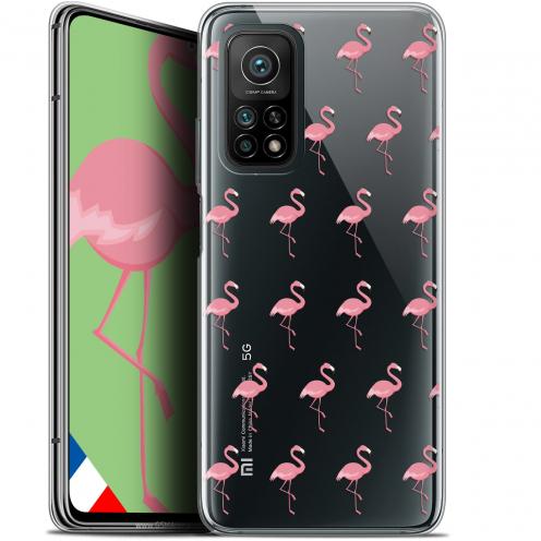 """Carcasa Gel Extra Fina Xiaomi Mi 10T / 10T Pro 5G (6.67"""") Pattern Les flamants Roses"""