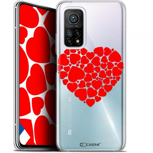 "Carcasa Gel Extra Fina Xiaomi Mi 10T / 10T Pro 5G (6.67"") Love Coeur des Coeurs"