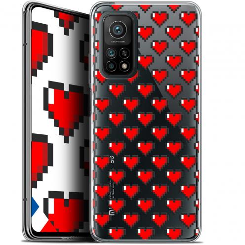 """Carcasa Gel Extra Fina Xiaomi Mi 10T / 10T Pro 5G (6.67"""") Love Pixel Art"""