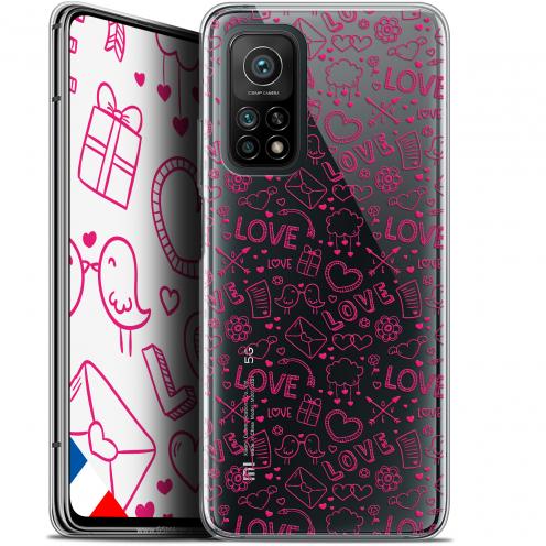 "Carcasa Gel Extra Fina Xiaomi Mi 10T / 10T Pro 5G (6.67"") Love Doodle"