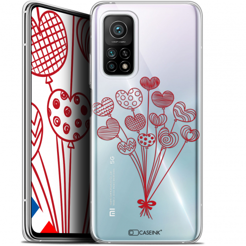 "Carcasa Gel Extra Fina Xiaomi Mi 10T / 10T Pro 5G (6.67"") Love Ballons d'amour"
