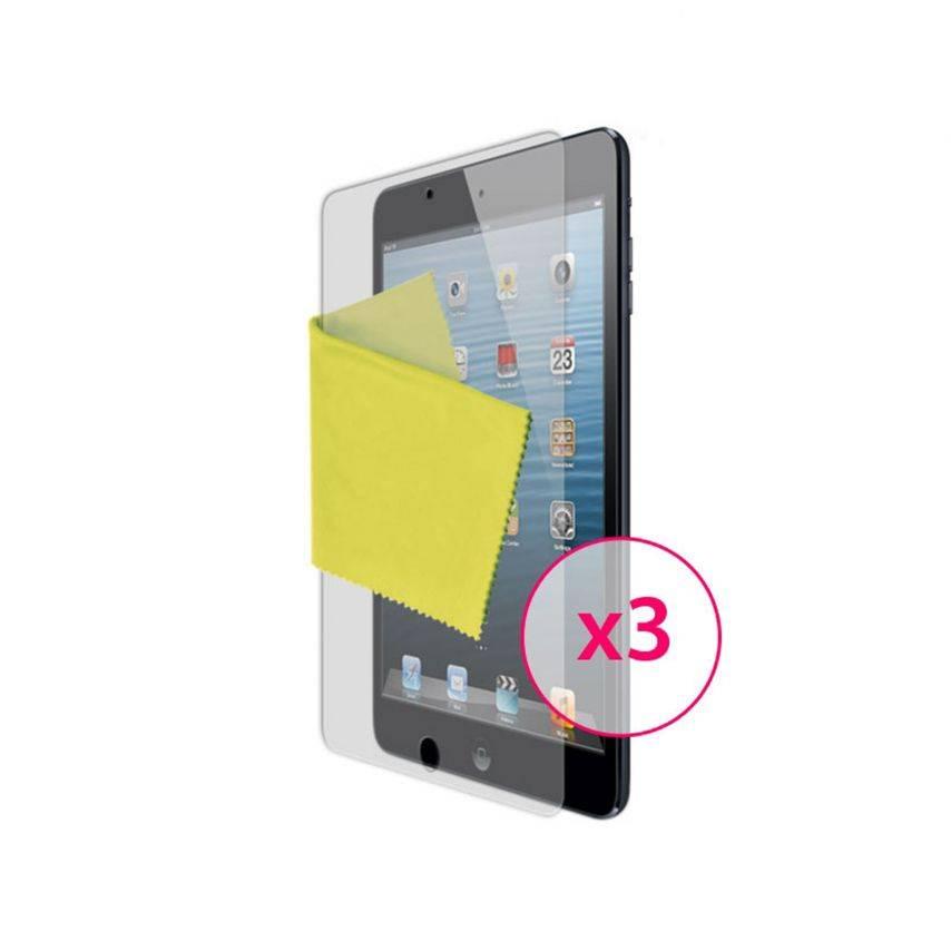 Protección anti películas huellas digitales iPad mini Clubcase ® 3-Pack