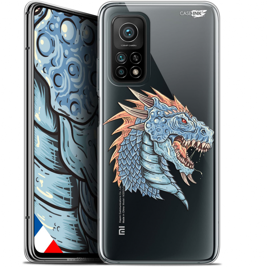 """Carcasa Gel Extra Fina Xiaomi Mi 10T / 10T Pro 5G (6.67"""") Design Dragon Draw"""