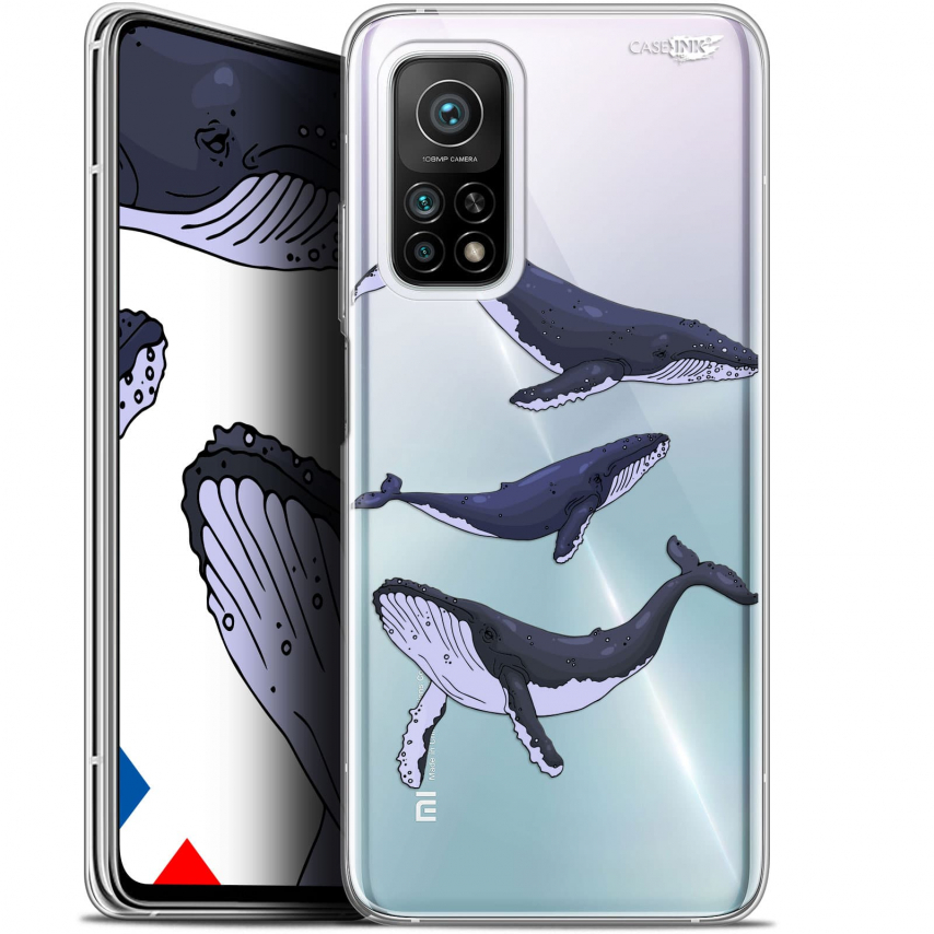 "Carcasa Gel Extra Fina Xiaomi Mi 10T / 10T Pro 5G (6.67"") Design Les 3 Baleines"