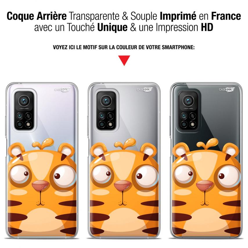 "Carcasa Gel Extra Fina Xiaomi Mi 10T / 10T Pro 5G (6.67"") Design Cartoon Tiger"