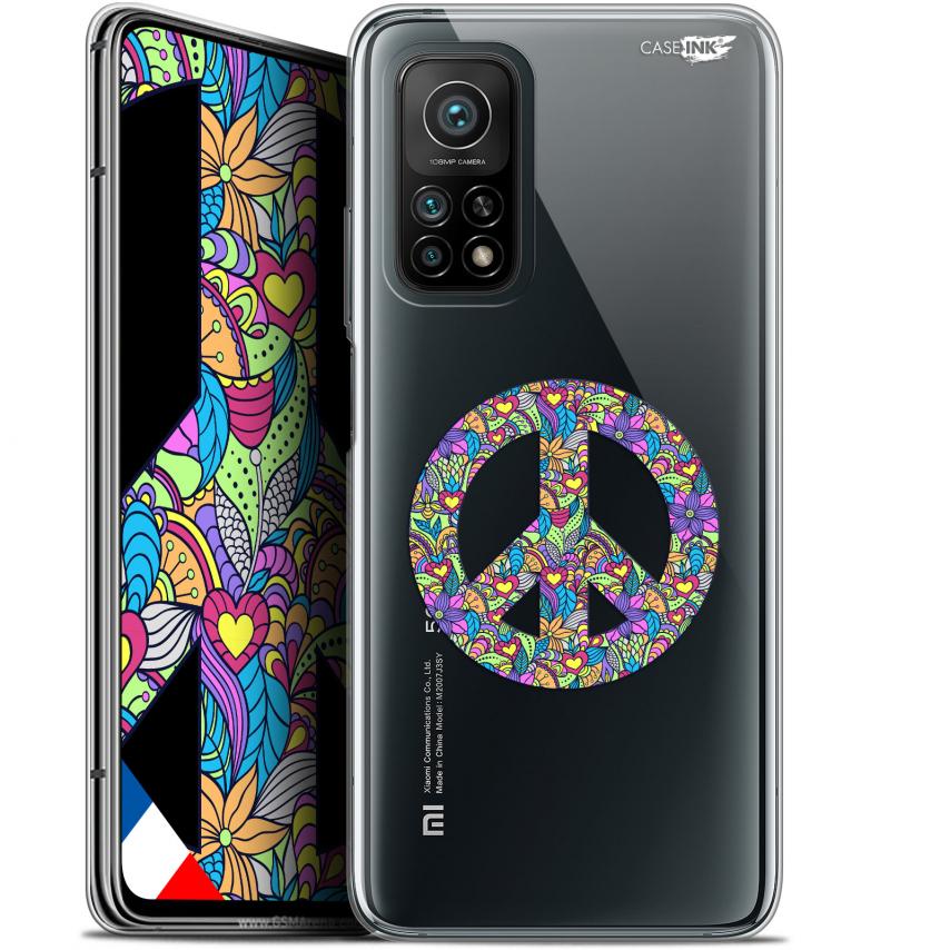 "Carcasa Gel Extra Fina Xiaomi Mi 10T / 10T Pro 5G (6.67"") Design Peace And Love"