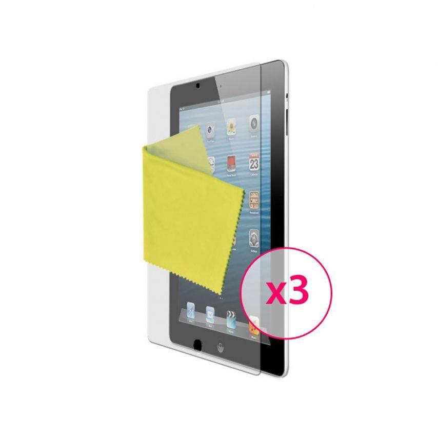 Películas protectoras anti huellas dactilares iPad ® de Clubcase 3-Pack