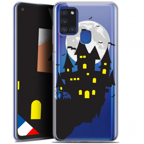 "Carcasa Gel Extra Fina Samsung Galaxy A21S (6.5"") Halloween Castle Dream"