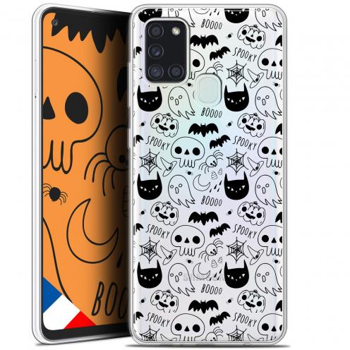 "Carcasa Gel Extra Fina Samsung Galaxy A21S (6.5"") Halloween Spooky"