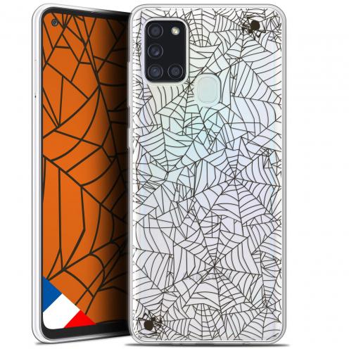 "Carcasa Gel Extra Fina Samsung Galaxy A21S (6.5"") Halloween Spooky Spider"
