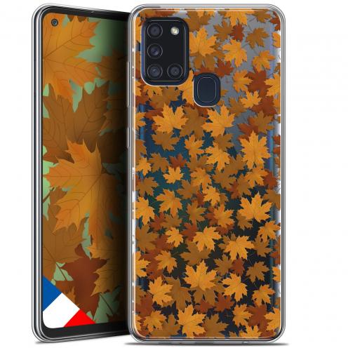 "Carcasa Gel Extra Fina Samsung Galaxy A21S (6.5"") Autumn 16 Feuilles"