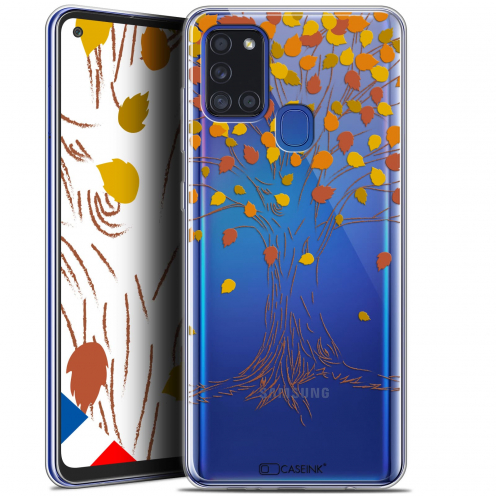 "Carcasa Gel Extra Fina Samsung Galaxy A21S (6.5"") Autumn 16 Tree"