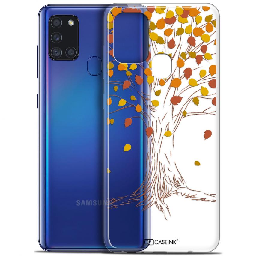 "Carcasa Gel Extra Fina Samsung Galaxy A21S (6.5"") Autumn 16 Tree"