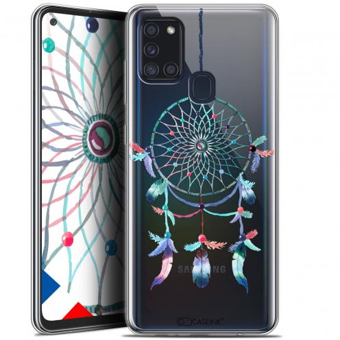 """Carcasa Gel Extra Fina Samsung Galaxy A21S (6.5"""") Dreamy Attrape Rêves Rainbow"""