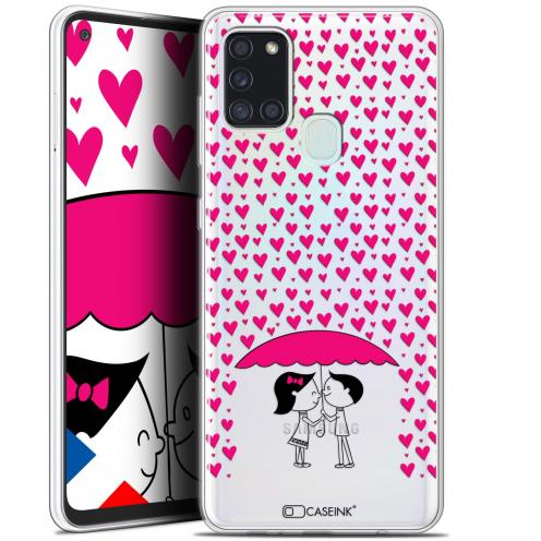 """Carcasa Gel Extra Fina Samsung Galaxy A21S (6.5"""") Love Pluie d'Amour"""