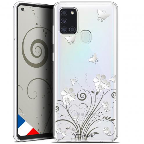 "Carcasa Gel Extra Fina Samsung Galaxy A21S (6.5"") Summer Papillons"