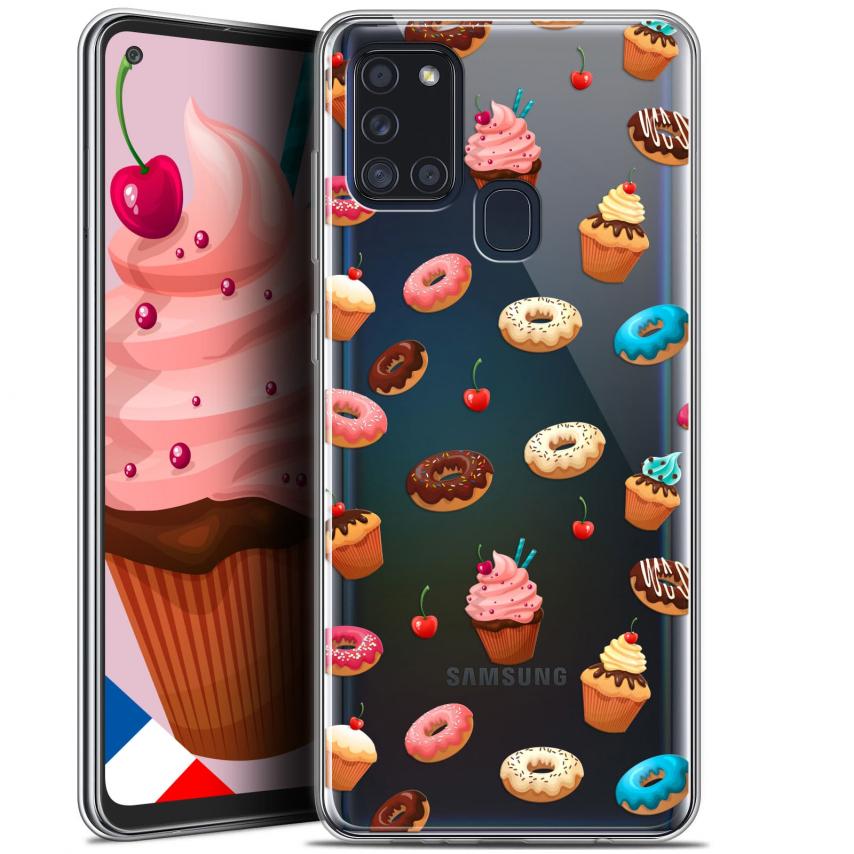 "Carcasa Gel Extra Fina Samsung Galaxy A21S (6.5"") Foodie Donuts"