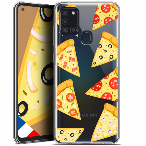 "Carcasa Gel Extra Fina Samsung Galaxy A21S (6.5"") Foodie Pizza"