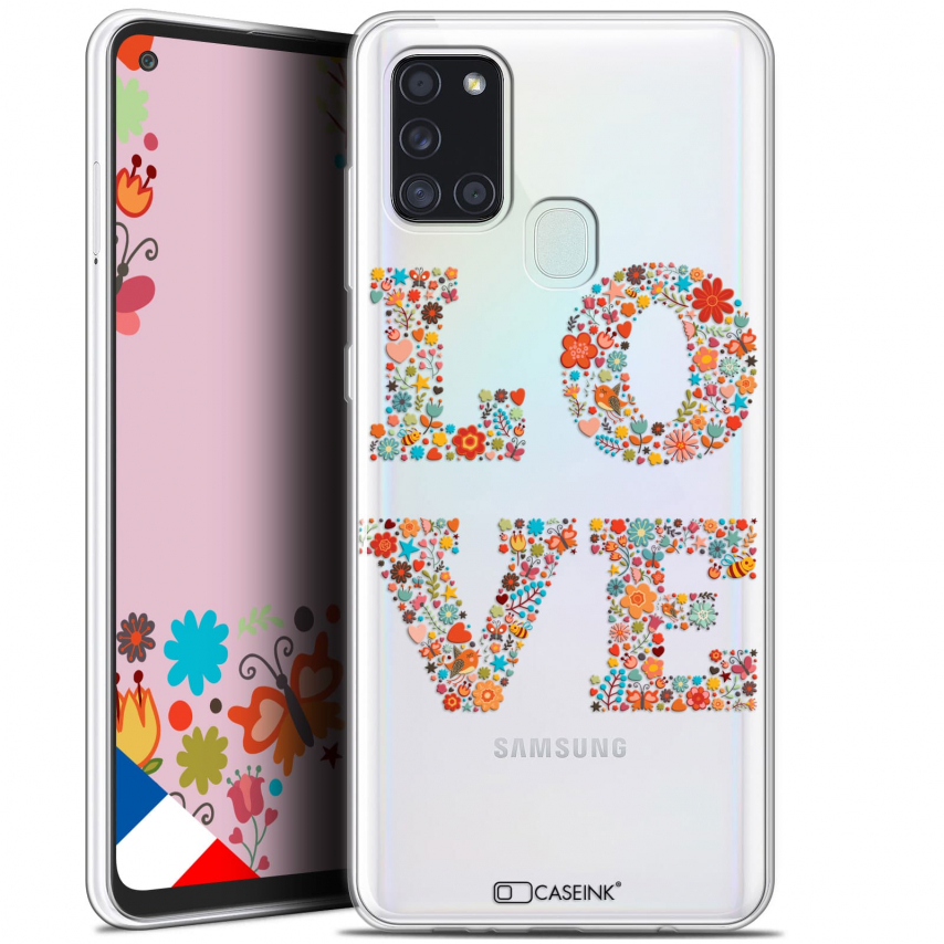 "Carcasa Gel Extra Fina Samsung Galaxy A21S (6.5"") Summer Love Flowers"