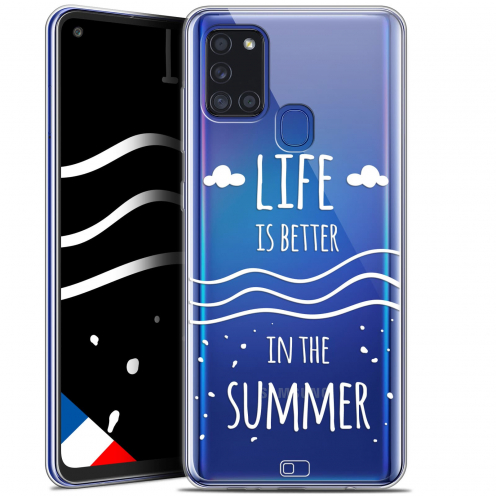 """Carcasa Gel Extra Fina Samsung Galaxy A21S (6.5"""") Summer Life's Better"""
