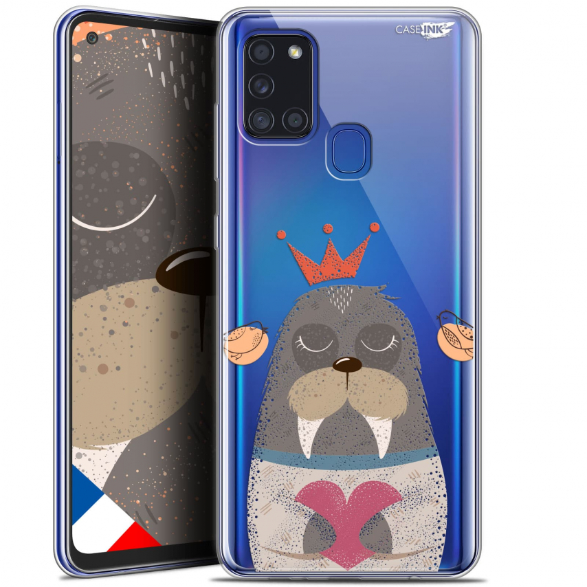 "Carcasa Gel Extra Fina Samsung Galaxy A21S (6.5"") Design Sketchy Walrus"