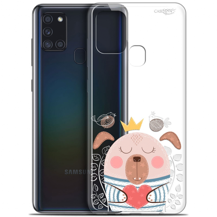 "Carcasa Gel Extra Fina Samsung Galaxy A21S (6.5"") Design Sketchy Dog"