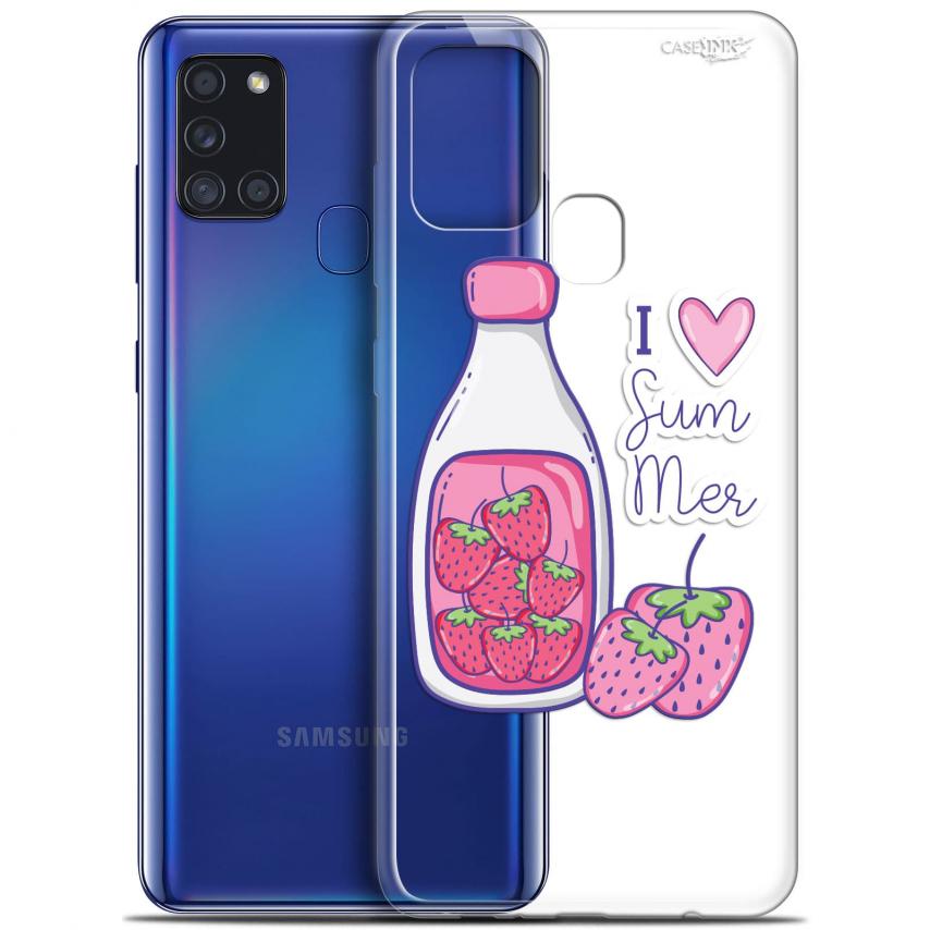 "Carcasa Gel Extra Fina Samsung Galaxy A21S (6.5"") Design Milky Summer"