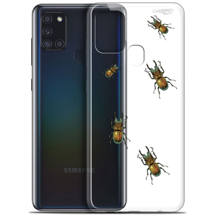 "Carcasa Gel Extra Fina Samsung Galaxy A21S (6.5"") Design Petits Scarabés"