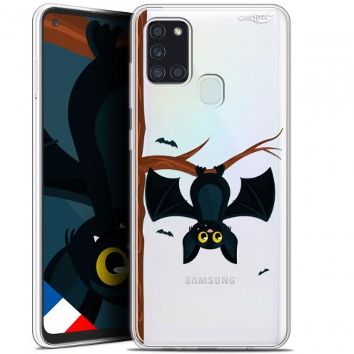 """Carcasa Gel Extra Fina Samsung Galaxy A21S (6.5"""") Design Petite Chauve Souris"""