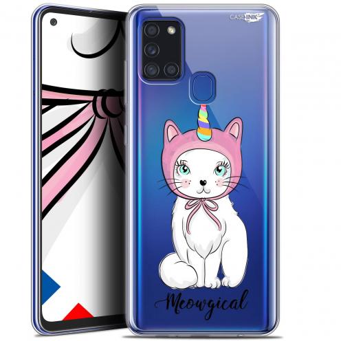 "Carcasa Gel Extra Fina Samsung Galaxy A21S (6.5"") Design Ce Chat Est MEOUgical"