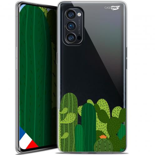 """Carcasa Gel Extra Fina Oppo Reno 4 Pro 5G (6.5"""") Design Cactus"""