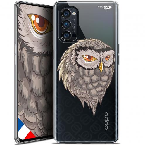 "Carcasa Gel Extra Fina Oppo Reno 4 Pro 5G (6.5"") Design Hibou Draw"