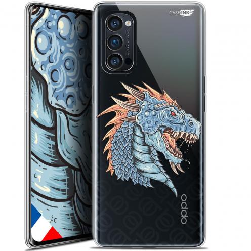 "Carcasa Gel Extra Fina Oppo Reno 4 Pro 5G (6.5"") Design Dragon Draw"