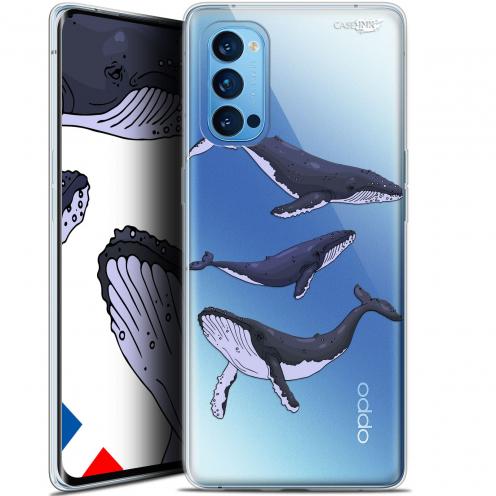 "Carcasa Gel Extra Fina Oppo Reno 4 Pro 5G (6.5"") Design Les 3 Baleines"